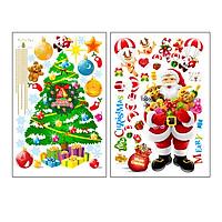 Bộ Decal trang trí giáng sinh -XL9020AB decalforchristmas