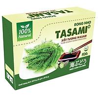 Rong Nho Tách Nước Tasami Kèm Xốt Tương Wasabi - Hộp 137,5g (27,5g x 5 gói)