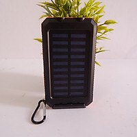 Sạc tích điện năng lượng mặt trời có móc đeo tiện dụng 20000mAh