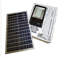 Đèn led năng lượng mặt trời 150w -272 led- có cảm biến- remote - pin 35000