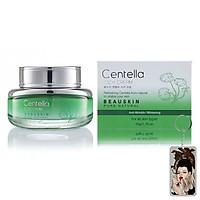 Kem dưỡng chống lão hóa Beauskin Centella Cica Cream Hàn Quốc 50ml + Móc khóa