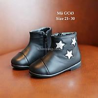 Giày Bốt Bé Gái 1 - 5 Tuổi Kiểu Dáng Hàn Quốc GC43