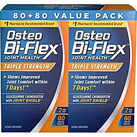 Osteo Bi-Flex Osteo bi-flex triple strength twinpack 80x2, 160 Count