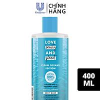Sữa Tắm Love Beauty And Planet Oceans Edition Chăm Da Mềm Mịn Marine Softness 400ml