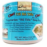 GIA VỊ NẤU Hủ Tiếu Chay Cốt Quốc Việt Foods 300G-Gia vị hoàn chỉnh nhập khẩu