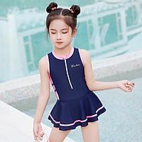 Bộ bơi liền sát nách chân váy cho bé(2-9 tuổi)
