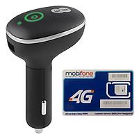 Bộ Phát Wifi 4G Cho Xe Ô Tô Huawei E8377 150Mbps + Sim Mobifone 3G/4G 120GB / Tháng - Hàng chính hãng