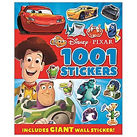 Disney Pixar - Mixed: 1001 Stickers (1001 Stickers Disney)