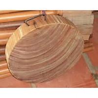 Thớt  gỗ nghiến 34cm dày 4-5cm