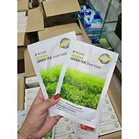 Combo 10 Miếng Mặt nạ Trà Xanh 3W Clinic Essential Up Green Tea 25ml x10