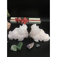 Cặp tì hưu đá Thạch hồng – dài 10cm – 750gr/cặp