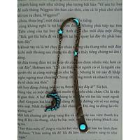 Kẹp sách bookmark dạ quang Mặt trăng đồng