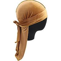 Đàn ông Lady Velvet Bandana Durag Mũ Nón Silk Cap Mũ Mũ