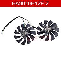 Cặp quạt tản nhiệt thẻ đồ họa HA9010H12F-Z DC12V 0.57A 4Pin 85mm cho MSI GTX 1060 OC 6G GTX 960 P10TX100 GT610 GTX100