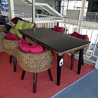 Bộ bàn ghế phòng ăn lục bình - WADI-VF18
