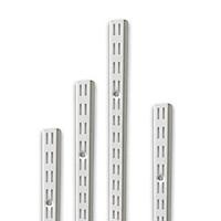 Bộ 4 Thanh Ray Tường Lỗ Đôi SMLIFE Railshelf H60 - Phụ Kiện Thành Phần Để Lắp Hệ Kệ Ray Tường Railshelf