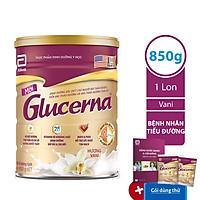 Sữa Bột Abbott Glucerna GLVLA Dành Cho Người Đái Tháo Đường Và Tiền Đái Tháo Đường (850g) - Tặng Bộ 2 Gói Glucerna Lúa Mạch 52,1g