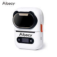 Aibecy Portable BT  Wireless Label Maker  203dpi   Thermal Label Printer with Rechargeable Battery Compatible with iOS