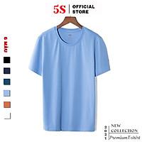 Áo Phông Nam Ngắn Tay 5S (6 Màu), Chất Liệu Cotton Mềm Mại, Thấm Hút, Kiểu Dáng Trẻ Trung, Năng Động (TSO21004)