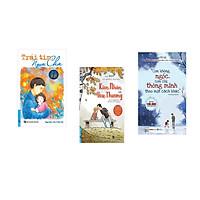 Combo 3 cuốn sách: Trái Tim Người Cha - Niềm Tin Vững Vàng Cho Trẻ Tự Kỷ + Kiên Nhẫn Và Yêu Thương + Con Không Ngốc Con Chỉ Thông Minh Theo Cách Khác
