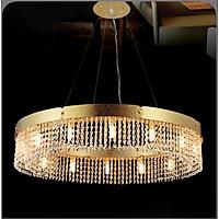 Đèn chùm pha lê cao cấp thiết kế sang trọng trang trí phòng khách, nhà hàng, khách sạn, quán cafe TL 99189/8