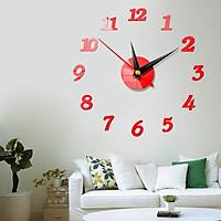 Đồng hồ WARWICK DH006 trang trí dán tường