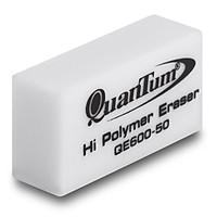 Gôm bút chì - Gôm Quantum QE600-50 (1*50) - Trắng (4 Viên)