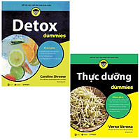 Combo Thực Dưỡng For Dummies Và Detox For Dummies