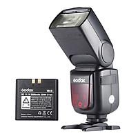 Đèn Flash Chiếu Sáng Không Dây Godox V860II-N i-TTL 1/8000S HSS Với Pin Li-ion Cho Máy Ảnh Nikon D800 D700 D7100 D7000 D5200 D5100 D5000 D300 D300S D3200 DSLR (1/8000s 2.4G 2000mAh)