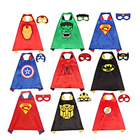 70cm Cloak Frozen Captain America Spider Man Cloak Cosplay Costume For Kids