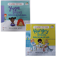 Bộ sách song ngữ 2+  - Những Em Bé Đói Ngấu + Những Em Bé Khỏe Mạnh (Bộ 2 cuốn)