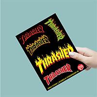 Thrasher - Single Sticker hình dán lẻ