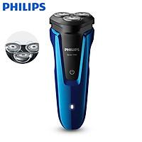 Máy cạo râu khô và ướt cao cấp Philips S1050 3 lưỡi cao cấp - Hàng Nhập Khẩu