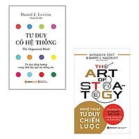 Bộ 2 cuốn sách về nghệ thuật tư duy: Nghệ Thuật Tư Duy Chiến Lược - Tư Duy Có Hệ Thống