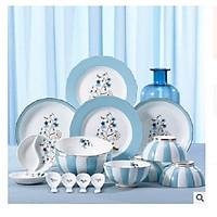 Bộ bát đĩa 16 món phong cách ba tư