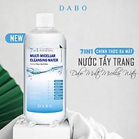 Nước tẩy trang đa năng 7 tác dụng - Dabo Multi Micellar Water 500ml (hàng chính hãng)