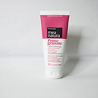 Sữa rửa mặt lựu dạng gel Farcom Mea Natura Pomegranate Face Scrub Gel 93% Organic 100ml