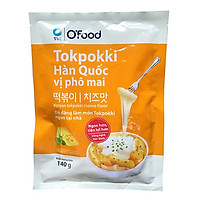 [Chỉ Giao HCM] - Big C - Tokpokki gói O'Food vị phô mai 140g - 00165