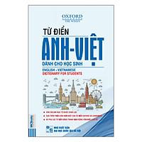 Từ Điển Anh - Việt (Bìa Mềm Màu Trắng Xanh) (Quà Tặng: Bút Animal Kute')