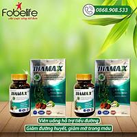 COMBO 02 Hộp DIAMAX – Giảm biến chứng tiểu đường, đường huyết và cholesterol - Hộp 60 viên