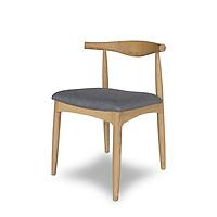 Ghế gỗ tần bì nhập khẩu bọc vải indoor cao cấp Furnist Bull S