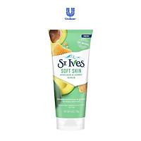 Sữa rửa mặt tẩy tế bào chết Bơ và Mật Ong St.Ives Soft Skin Avocado & Honey Scrub 170g