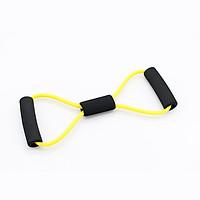 8 Shape Fitness Elastic Resistance Band Loop Pull Rope Arm Training Home Yoga