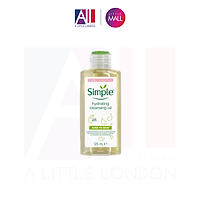 Dầu Tẩy Trang Simple Kind To Skin Hydrating Cleansing Oil 125ml (New package)