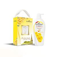 [Hộp quà] Dầu gội nước hoa Enchanteur Charming dưỡng tóc siêu mượt 650gr