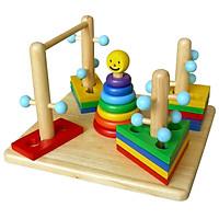 Đường Luồn Lý Thú Mk - Đồ chơi gỗ