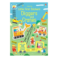 Little First Stickers Diggers and Cranes - Little First Stickers
