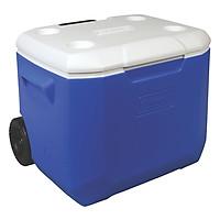 Thùng Giữ Nhiệt Coleman tay kéo 3000001838 - 57L - Xanh 60 QT Wheeled Cooler (Blue)