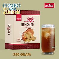 COMBO 2 HỘP NẤM LINH CHI NGUYÊN TAI 250 GRAM