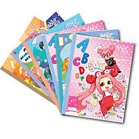 Lốc 5 Quyển Tập học sinh LỚP HỌC MẬT NGỮ 4 oly  (200 Trang)  -mẫu ngẫu nhiên
